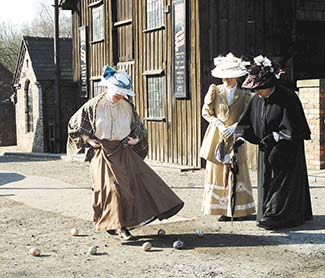 Egg dancing at Blists Hill Victorian Town
