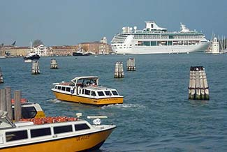 SPLENDOUR OF THE SEAS in Venice, Italy