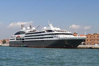 L'AUSTRAL at San Basilio pier in Venice