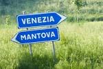 Venezia - Mantova signs