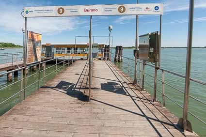 ACTV pier on Burano
