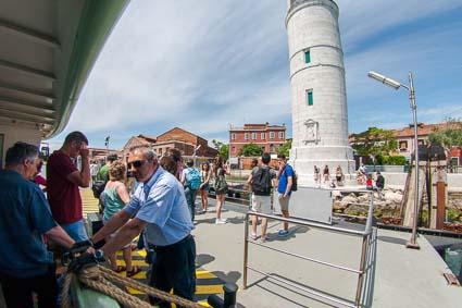 Faro ACTV stop on Murano
