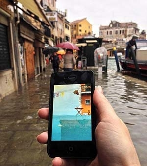 Venice Tides app on iPhone