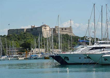 Antibes and Fort Carre