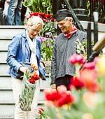 Couple on Tulip Island