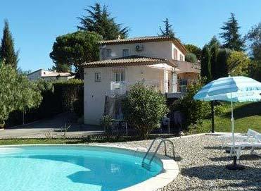Villa Les Mimosas with pool