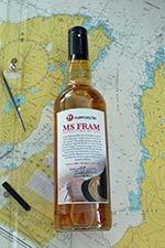 MS Fram Expedition Whisky bottle