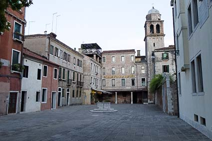 Church of San Simeon Grande and Hotel Ai Due Fanali