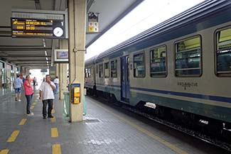 Platform 1 - Venezia Mestre train station