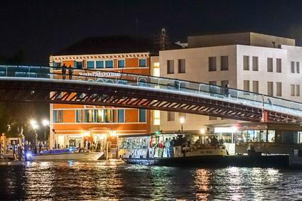 Ponte di Calatrava and Hotel Santa Chiara