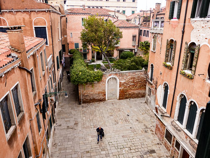 View from a vacation apartment in Venice